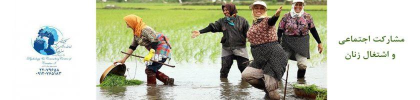اشتغال زنان: تحلیل نظرسنجی 6